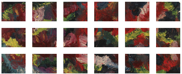 Men In Robes Painting +180 degrees clockwise rotation sliced up