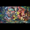 thumbnail The Social Tribe Painting - Energy Oil Paintings - eop -