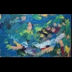 thumbnail The Girl and the Dog Painting - Energy Oil Paintings - eop -